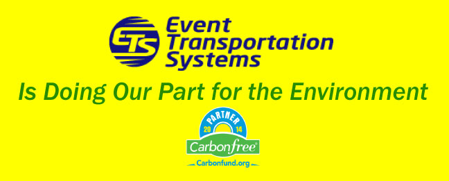Event Transportation Systems Partners with Carbonfund.org to Reduce our Carbon Footprint