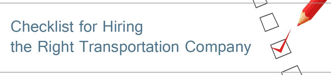 Thinking of Hiring a Transportation Management Company  for your Next Meeting or Event?