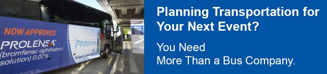 Planning Transportation for Your Next Event? You Need More Than a Bus Company