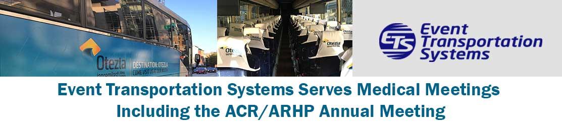 ETS Serves Medical Meetings Including the ACR/ARHP Annual Meeting |