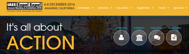 Visit Event Transportation Systems (ETS) at IAEE EXPO! EXPO! 2016