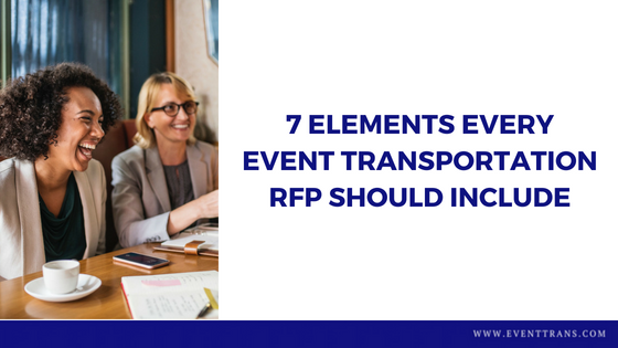 7 Elements Every Event Transportation RFP Should Include |